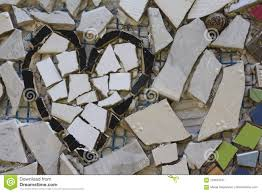 broken pieces mosaic